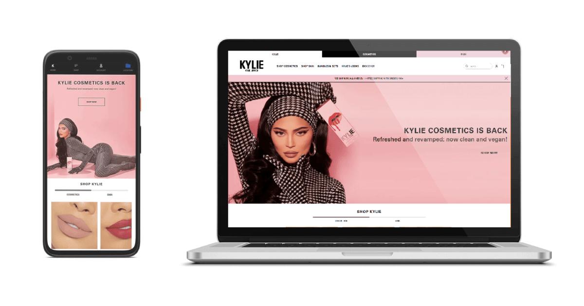 Sklep kyliecosmetics.com Shopify